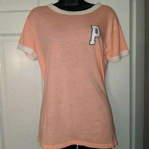 Cute peach short sleeve shirt